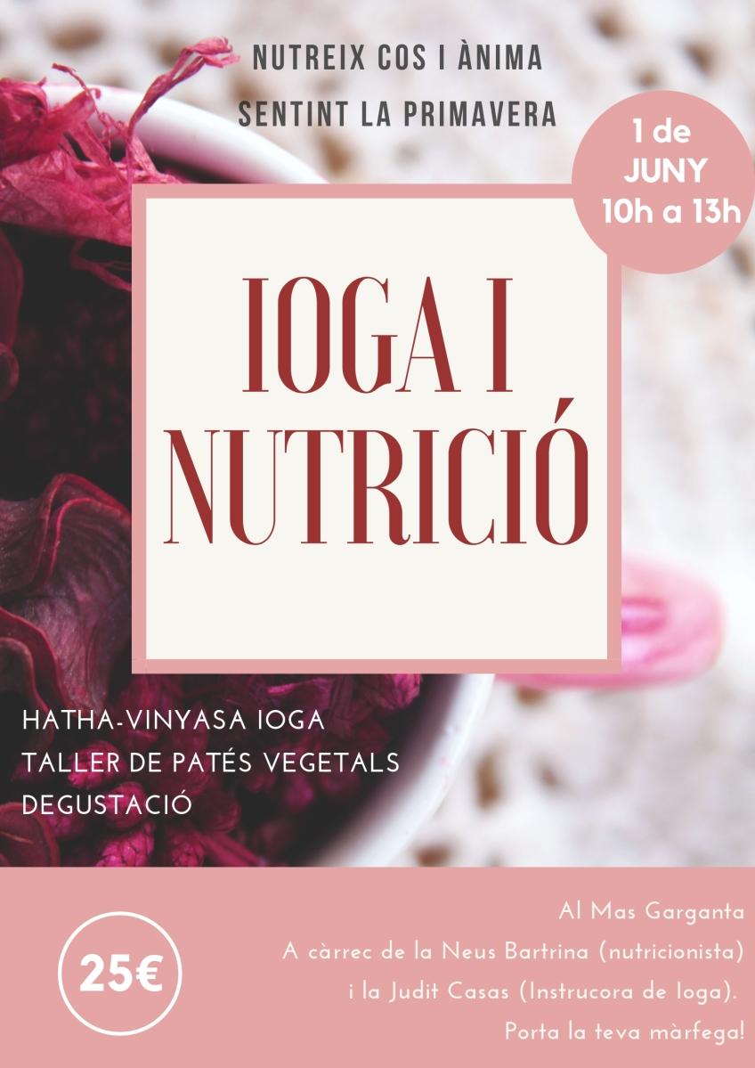 Taller de ioga i nutrició